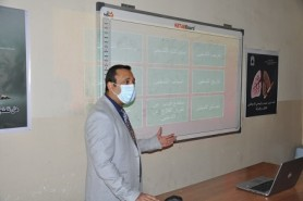 An awareness lecture on combating smoking