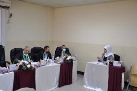 مناقشة اطروحة طالبة الدكتوراه ( هبة حسن عبد الله )